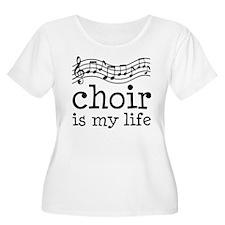 Choir is My Life Music Gift T-Shirt