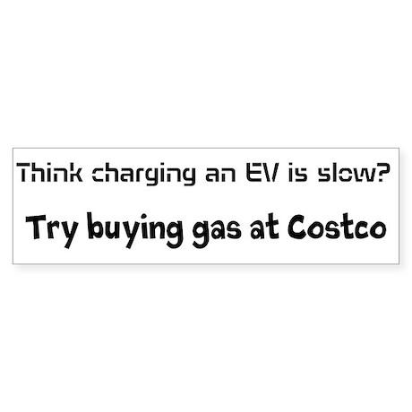 EV slow/costco Sticker (Bumper)