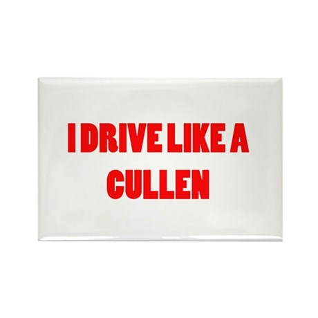 I drive like a Cullen Rectangle Magnet (100 pack)