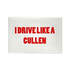 I drive like a Cullen Rectangle Magnet