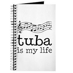 Tuba is My Life Music Gift Journal