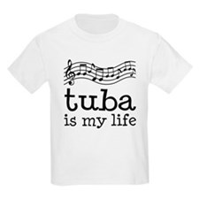 Tuba is My Life Music Gift T-Shirt