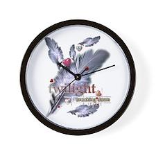 Breaking Dawn: Feathers Wall Clock
