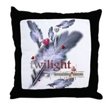 Breaking Dawn: Feathers Throw Pillow