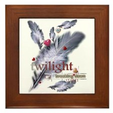 Breaking Dawn: Feathers Framed Tile