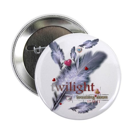 """Breaking Dawn: Feathers 2.25"""" Button"""