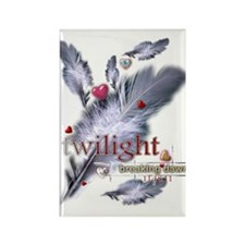 Breaking Dawn: Feathers Rectangle Magnet