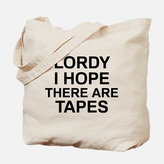 Lordy Tapes Tote Bag