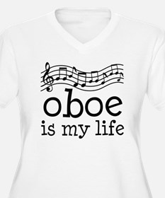 Oboe is My Life Music Gift T-Shirt