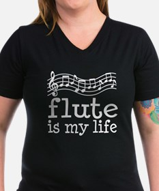 Flute is My Life Music Gift Shirt