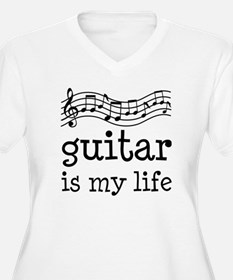 Guitar is My Life Music Gift T-Shirt