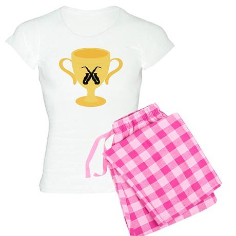 Saxophone Trophy Women's Light Pajamas
