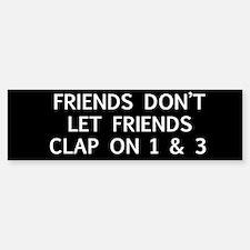clap1 Bumper Bumper Bumper Sticker