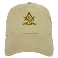Masonic Faith Hope Charity Emblem Baseball Cap