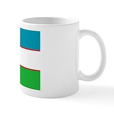 Flag of Uzbekistan Mug