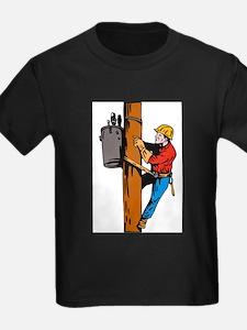 power lineman repairman T