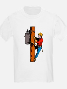 power lineman repairman T-Shirt