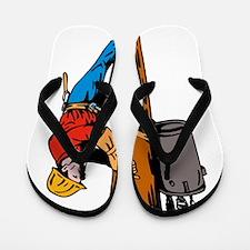 power lineman repairman Flip Flops