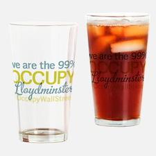 Occupy Lloydminster Drinking Glass