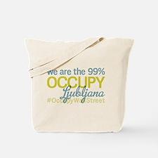Occupy Ljubljana Tote Bag