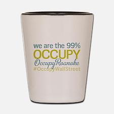 Occupy Roanoke Shot Glass