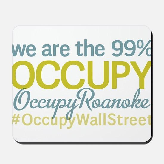 Occupy Roanoke Mousepad