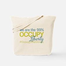 Occupy Liberty Tote Bag