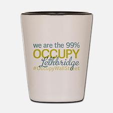 Occupy Lethbridge Shot Glass
