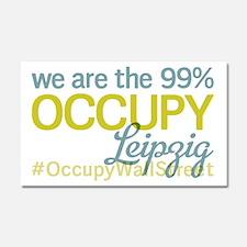Occupy Leipzig Car Magnet 20 x 12