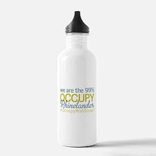 Occupy Rhinelander Water Bottle