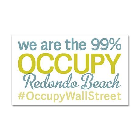 Occupy Redondo Beach Car Magnet 20 x 12