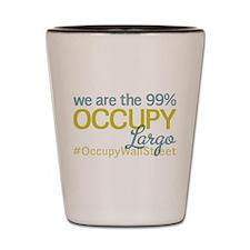 Occupy Largo Shot Glass
