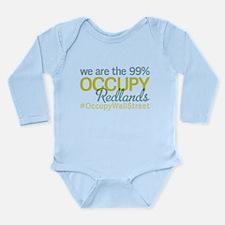 Occupy Redlands Long Sleeve Infant Bodysuit