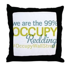 Occupy Redding Throw Pillow
