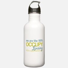 Occupy Lansing Water Bottle