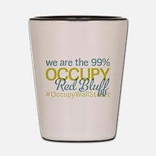 Occupy Red Bluff Shot Glass