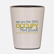 Occupy Red Bank Shot Glass