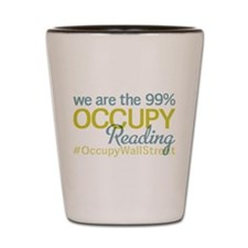 Occupy Reading Shot Glass