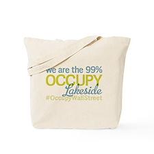 Occupy Lakeside Tote Bag