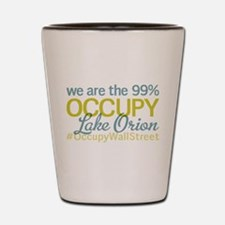 Occupy Lake Orion Shot Glass