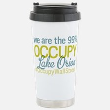 Occupy Lake Orion Stainless Steel Travel Mug