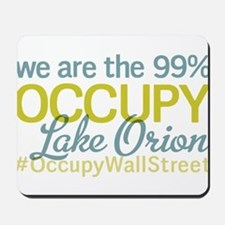 Occupy Lake Orion Mousepad
