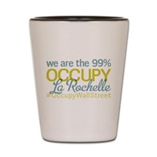 Occupy La Rochelle Shot Glass