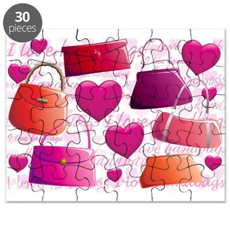 I love Handbags Puzzle