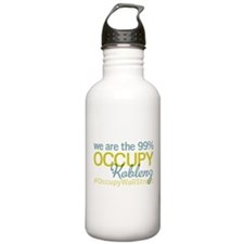 Occupy Koblenz Water Bottle