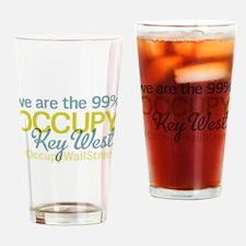 Occupy Key West Drinking Glass