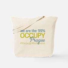 Occupy Prague Tote Bag