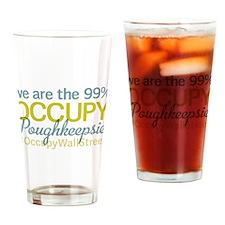 Occupy Poughkeepsie Drinking Glass