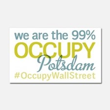 Occupy Potsdam Car Magnet 20 x 12