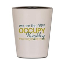 Occupy Keighley Shot Glass